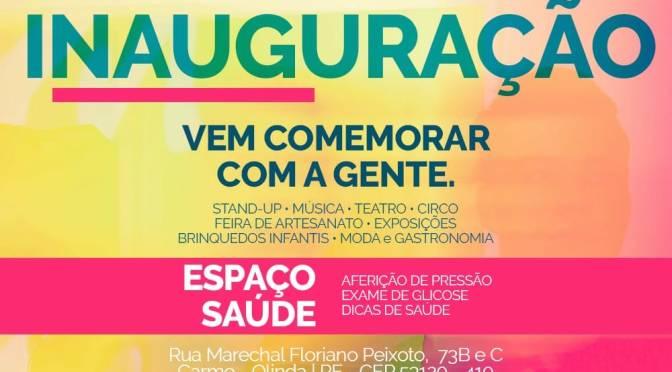 Inauguração esse final de semana em Olinda da CASA DE APOIO AO PROFISSIONAL DE ARTE E CULTURA – CAPAC.