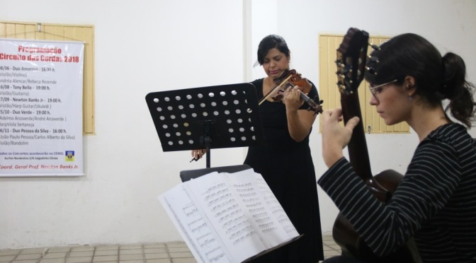 Evento gratuito com música de qualidade em Olinda.